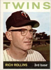 Rich Rollins eyeglasses ballplayer