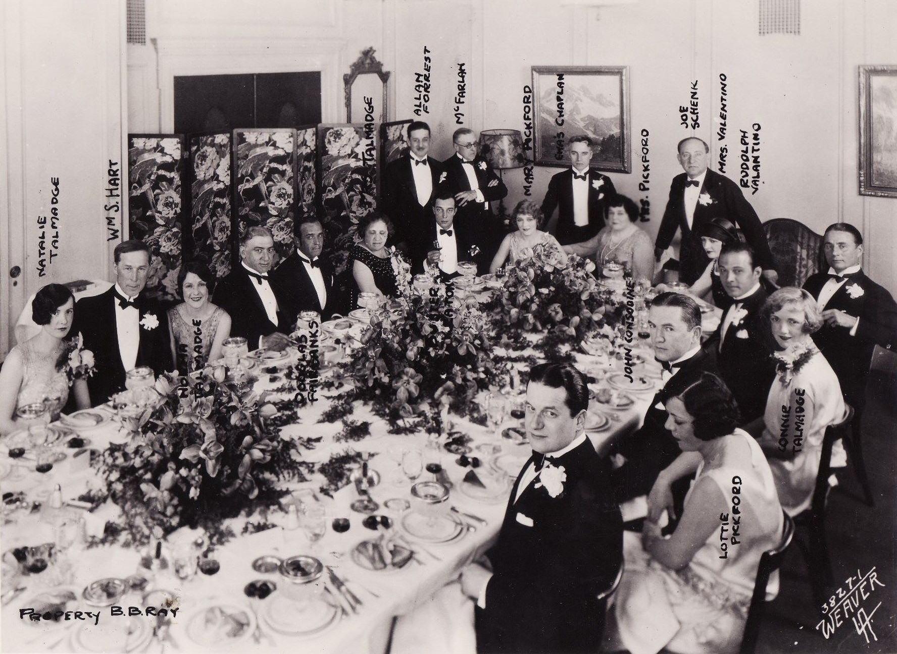 Classic Hollywood #84 - Party For Rudolph Valentino?