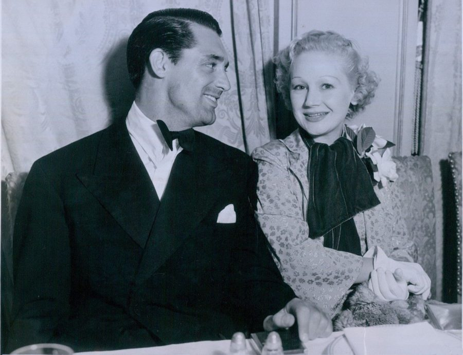 Cary Grant Queenie Smith Emanuel Cohen Dinner October 13 1934