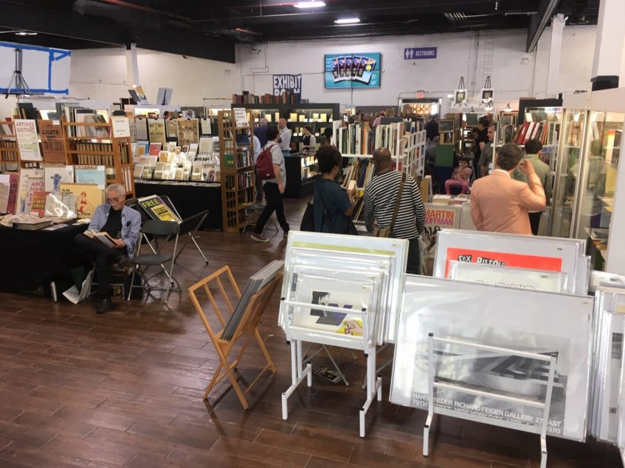 Customers at Brooklyn Antiquarian Book Fair 2019