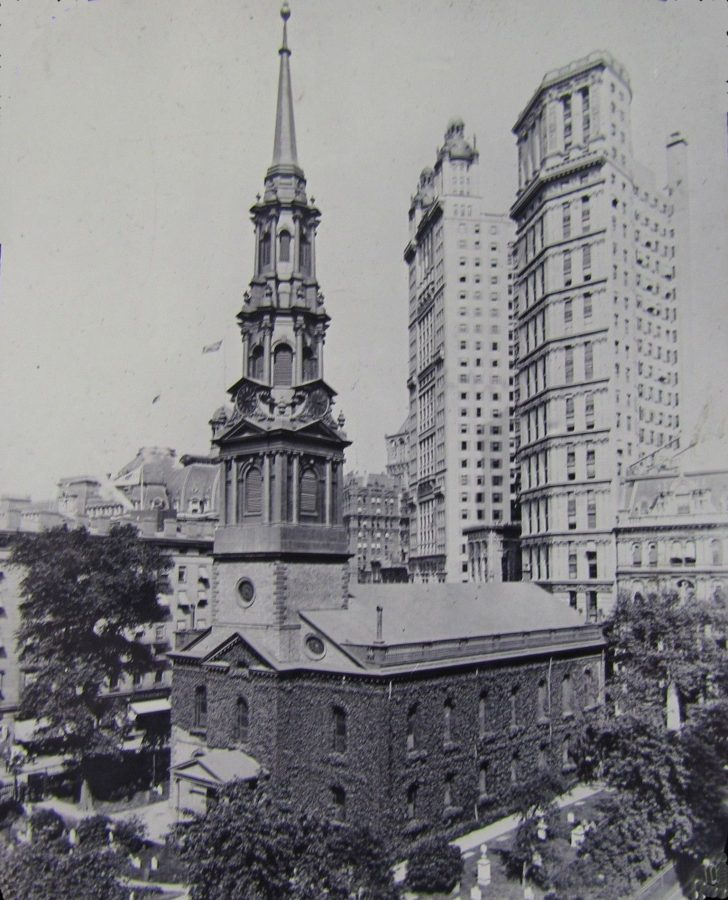 St. Paul's Chapel and St. Paul Building and Park Row Building