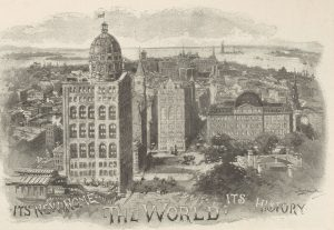 World Building and environs looking south 1890