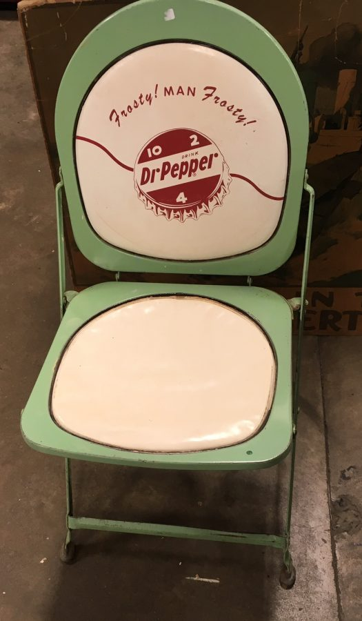 Dr. Pepper Chair