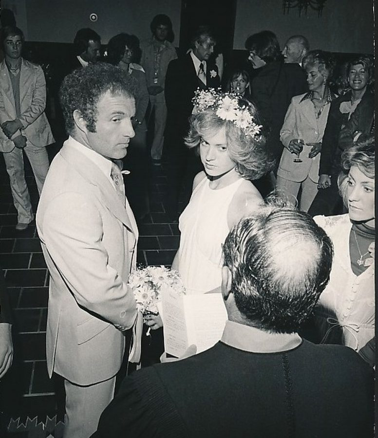 James Caan wedding Sheila Ryan 1976