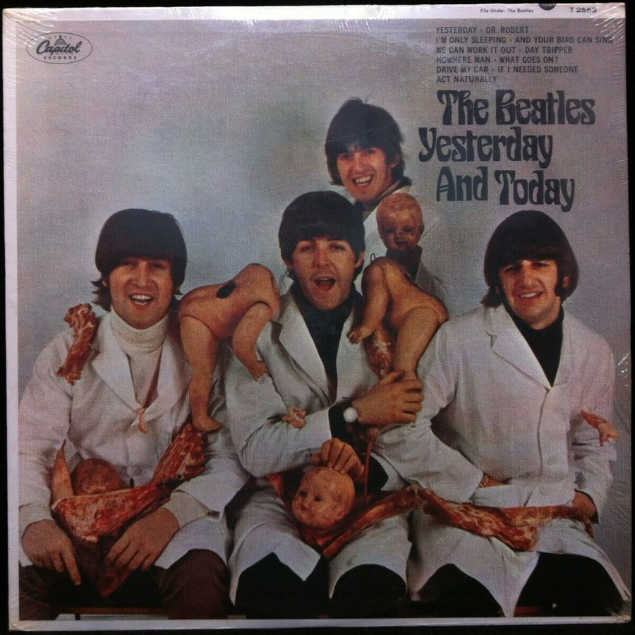 Beatles Yesterday and Today original LP cover
