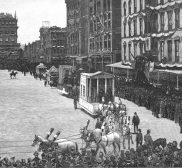 New York Holds A Party For George Washington In 1889