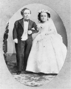 Tom Thumb and Lavinia wedding 1863