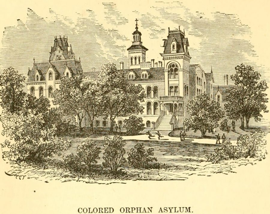 Colored Orphan Asylum 1870 New york city