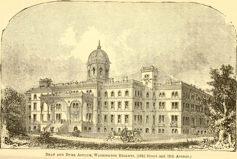 Deaf and Dumb Asylum New York 1870