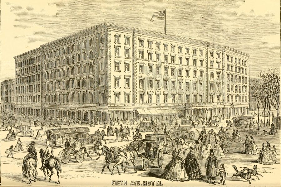 Fifth Avenue Hotel 1870 New York City