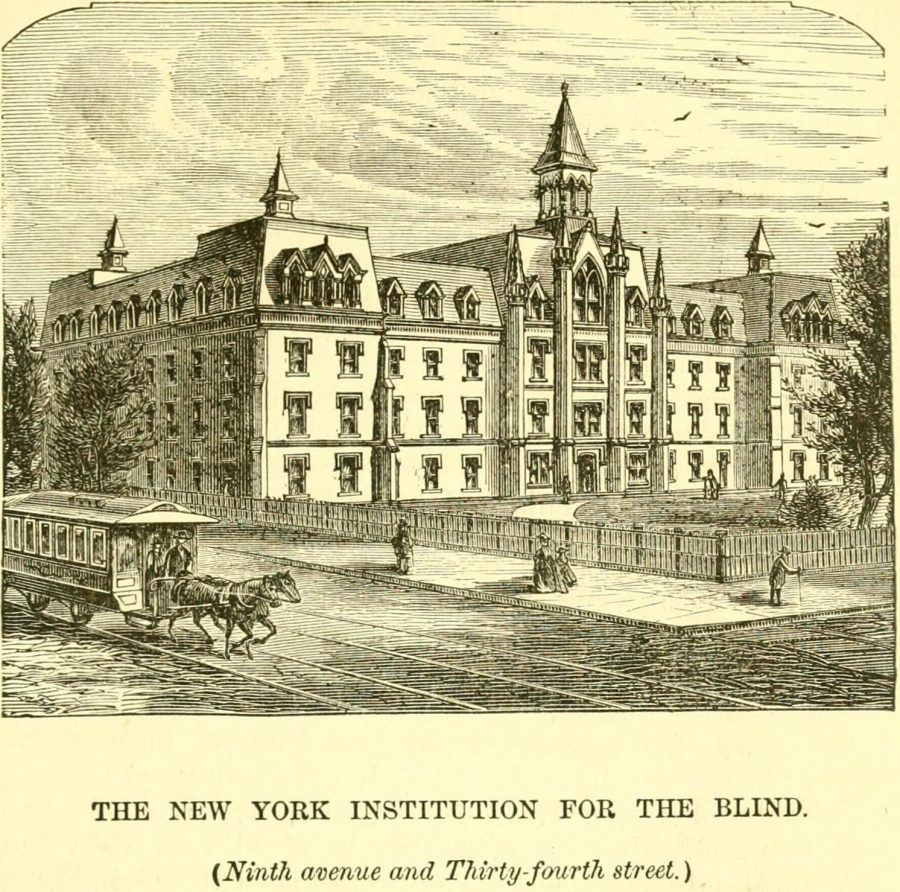New York Institution for the Blind 1870
