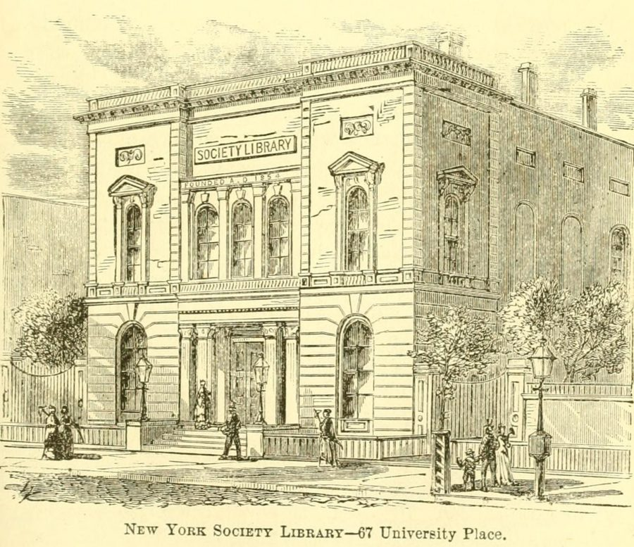 New York Society Library 1870