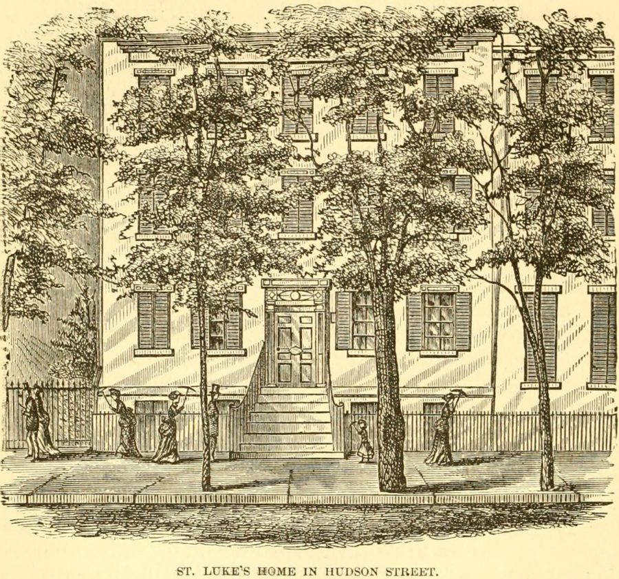 New Yprk City St Lukes Home For Indigent Christian Females 1870