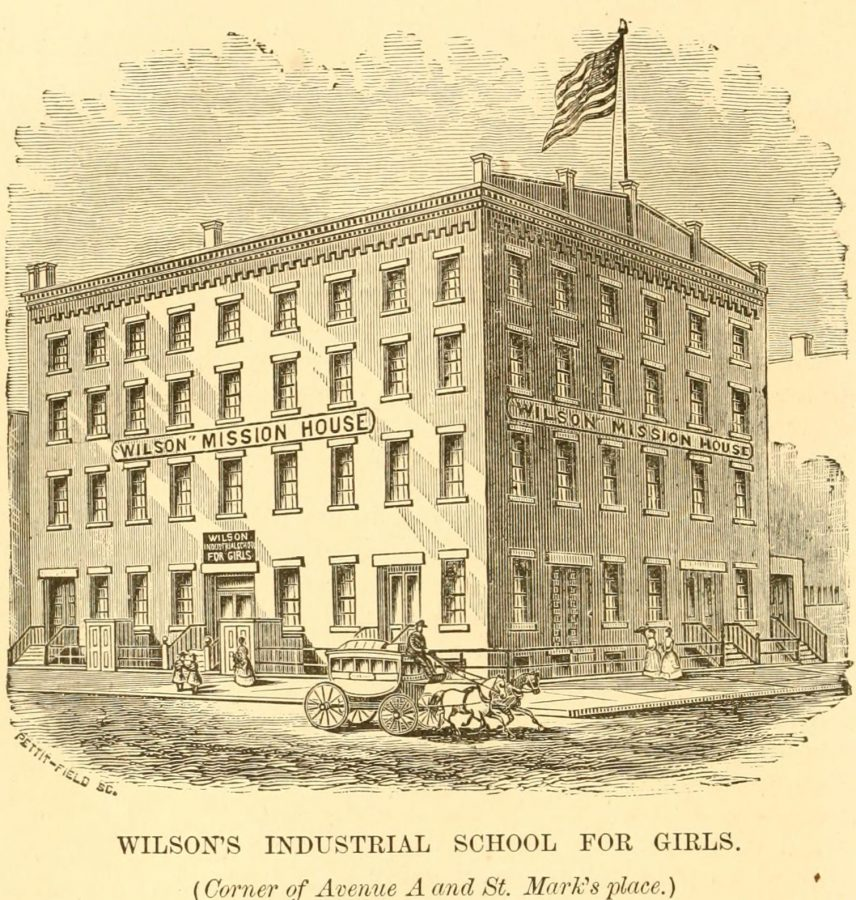 Wilson's industrial school for girls 1870 new york