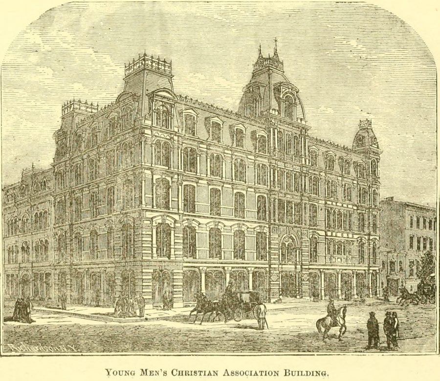 YMCA 4th Ave 23rd St 1870