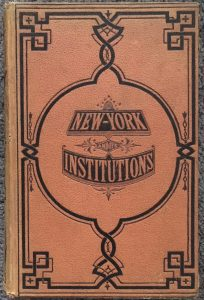 New York And Its Institutions book cover 1871
