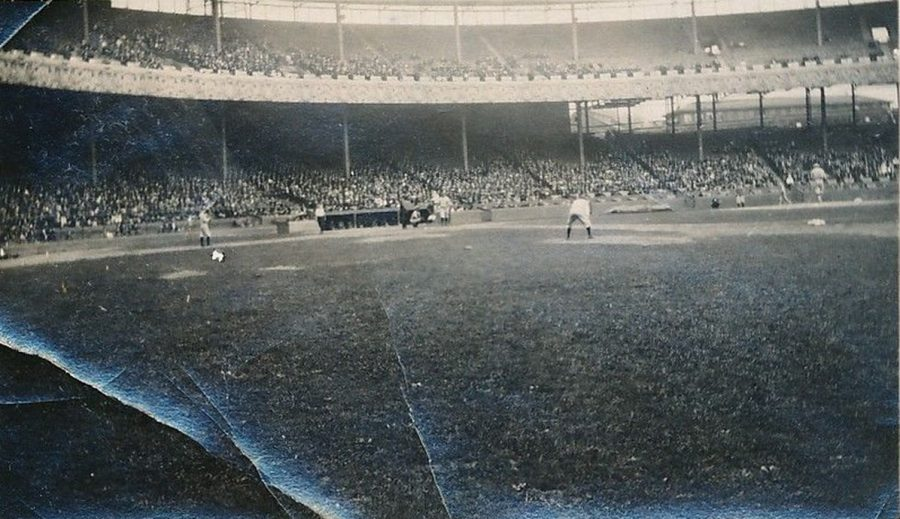 Athletics Yankees Sept 6 1920 Polo Grounds