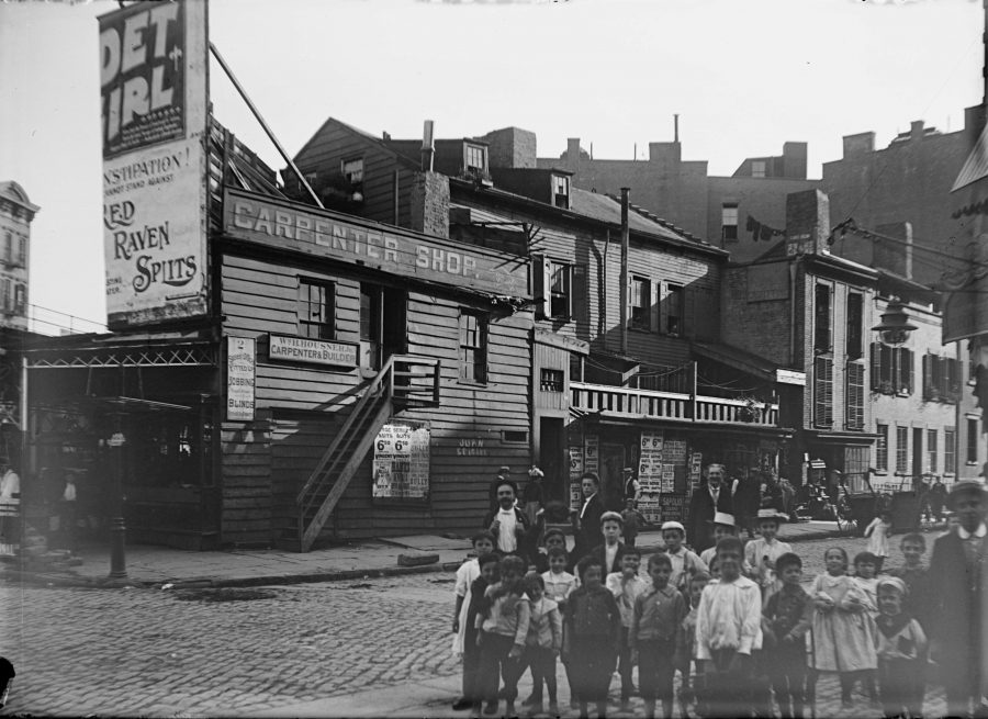 Cornelia St West 4th Street Aug 25 1900 photo Robert Bracklow
