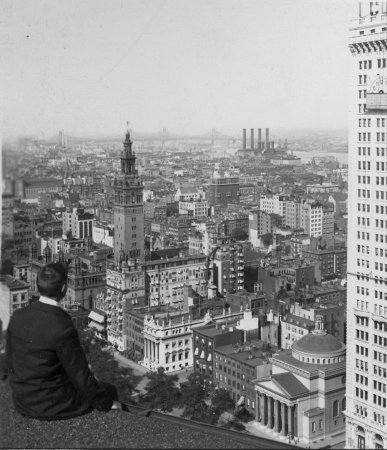 Madison Square From Flatiron Building Keystone-Mast Collection, UCR/California Museum of Photography, University of California at Riverside