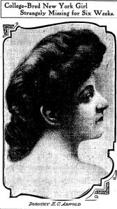 Dorothy Arnold Chicago Daily Tribune Jan 27 1911