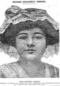 Dorothy Arnold Washington Post Jan 28 1911