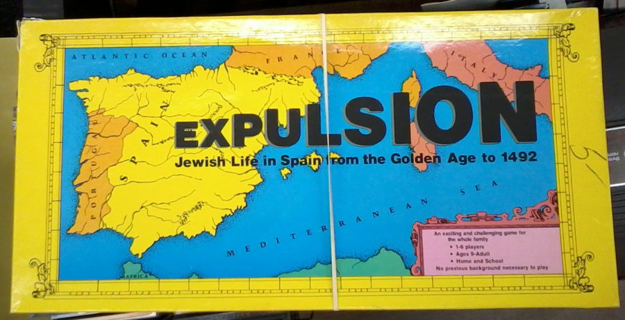 Expulsion Board Game Get The Jews Out Of Spain
