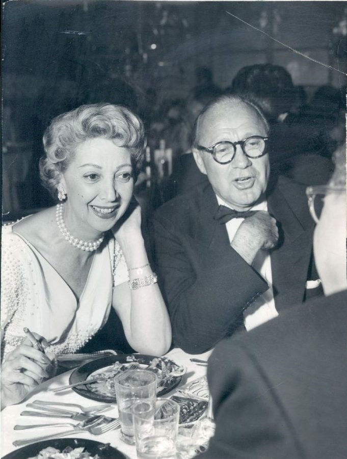 Jack Benny Mary Livingstonephoto Nat Dallinger