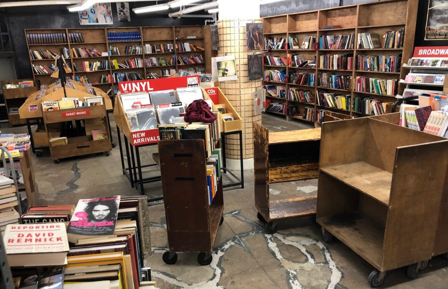 No one at Strand Bookstore