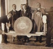 New York City Mayor Jimmy Walker Gets The Cheese