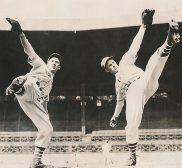Hall Of Famer Carl Hubbell & His Brother John Hubbell - 1937