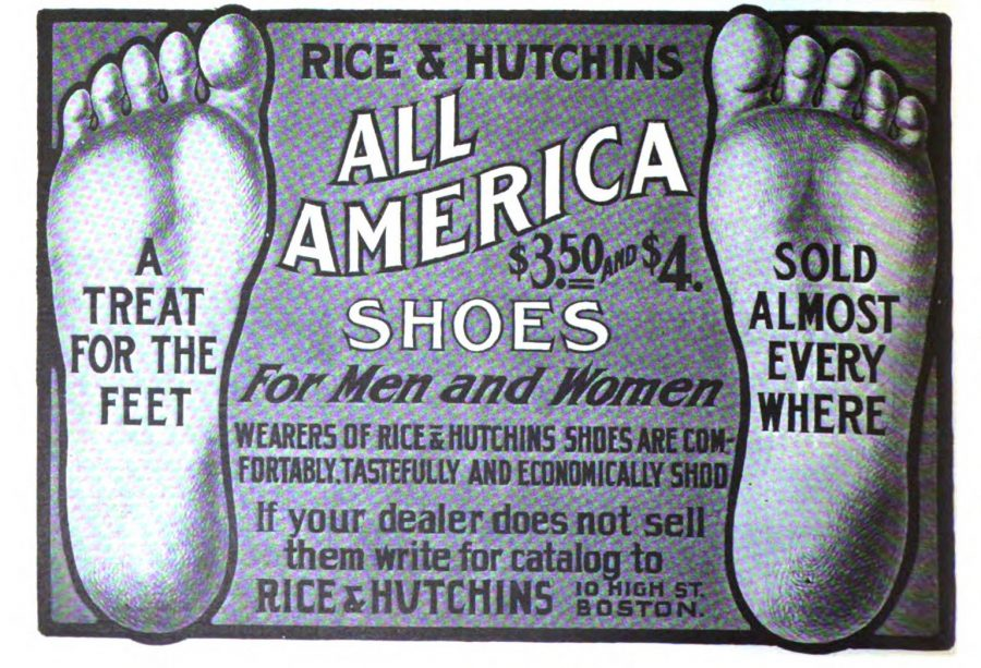 All America Shoes ad 1904