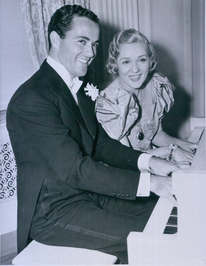 MAry Pickford engaged Charles Buddy Rogers 1936