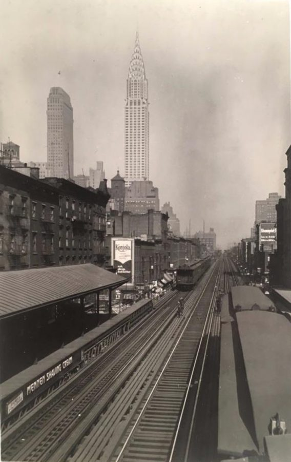 34th St 3rd Ave El photo Percy Loomis Sperr