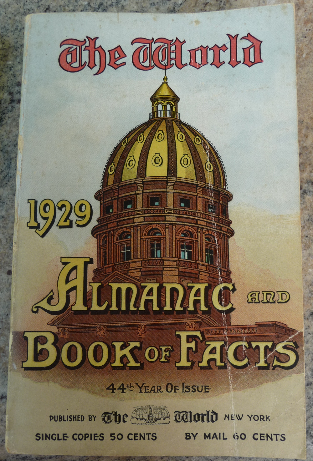 The 1929 World Almanac
