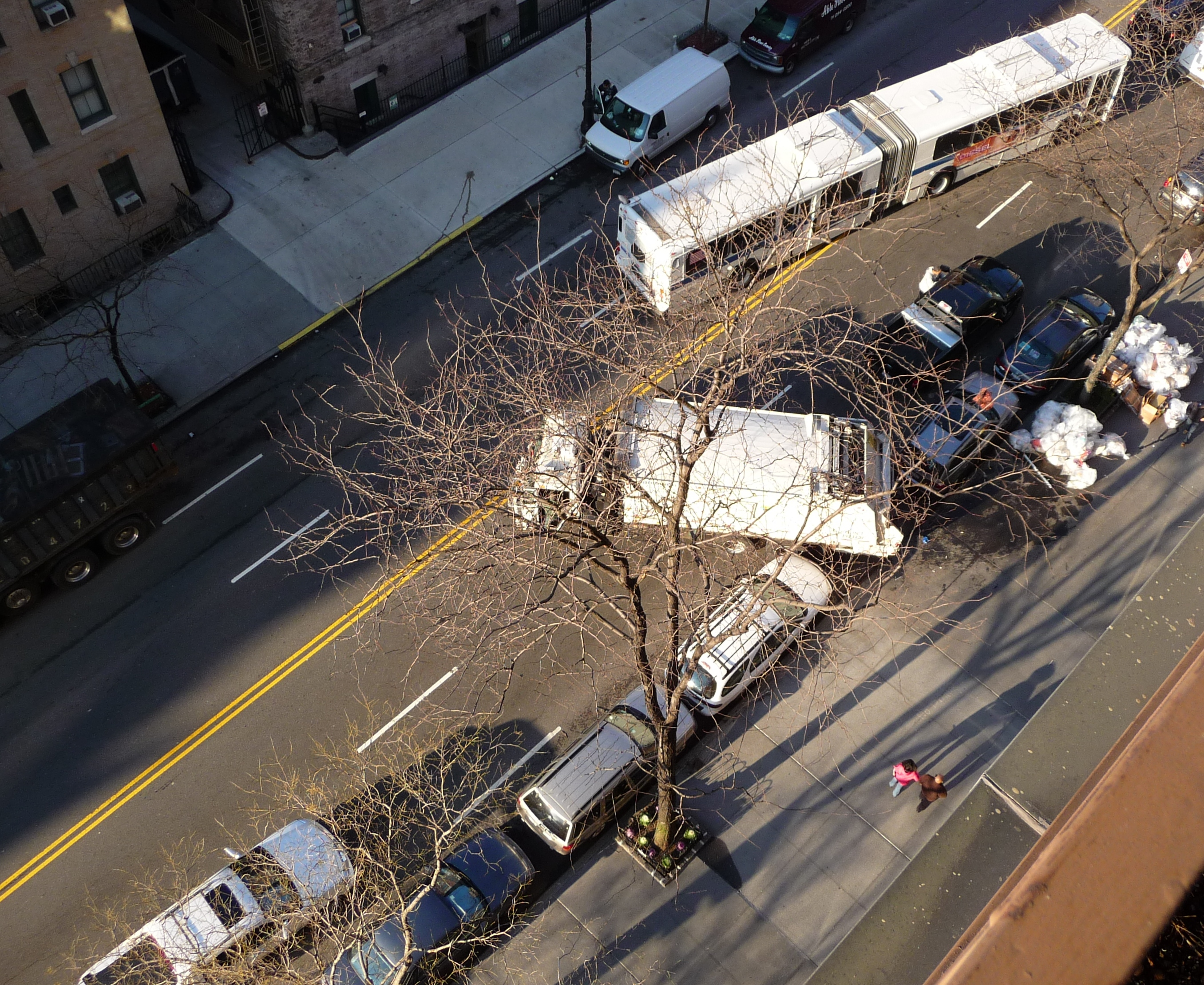 Question: Why Do Some Garbagemen (Sorry, Sanitation Workers) Block New York City Streets and Not Give A Damn about Public Safety?
