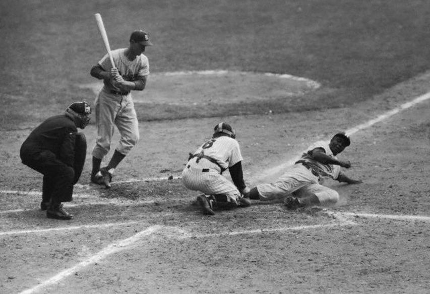 Image result for jackie robinson stole home images