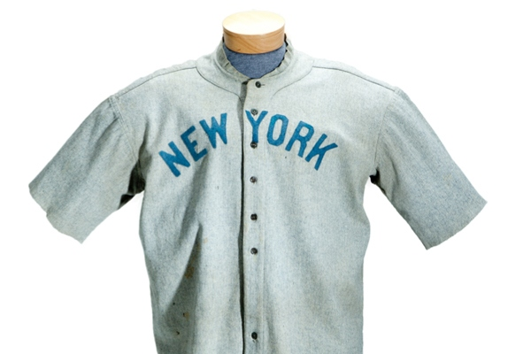 Babe Ruth's 1920 Uniform Sells For $4.4 Million At Auction