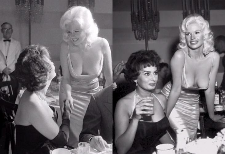 Classic Hollywood #16 – Sophia Loren & Jayne Mansfield