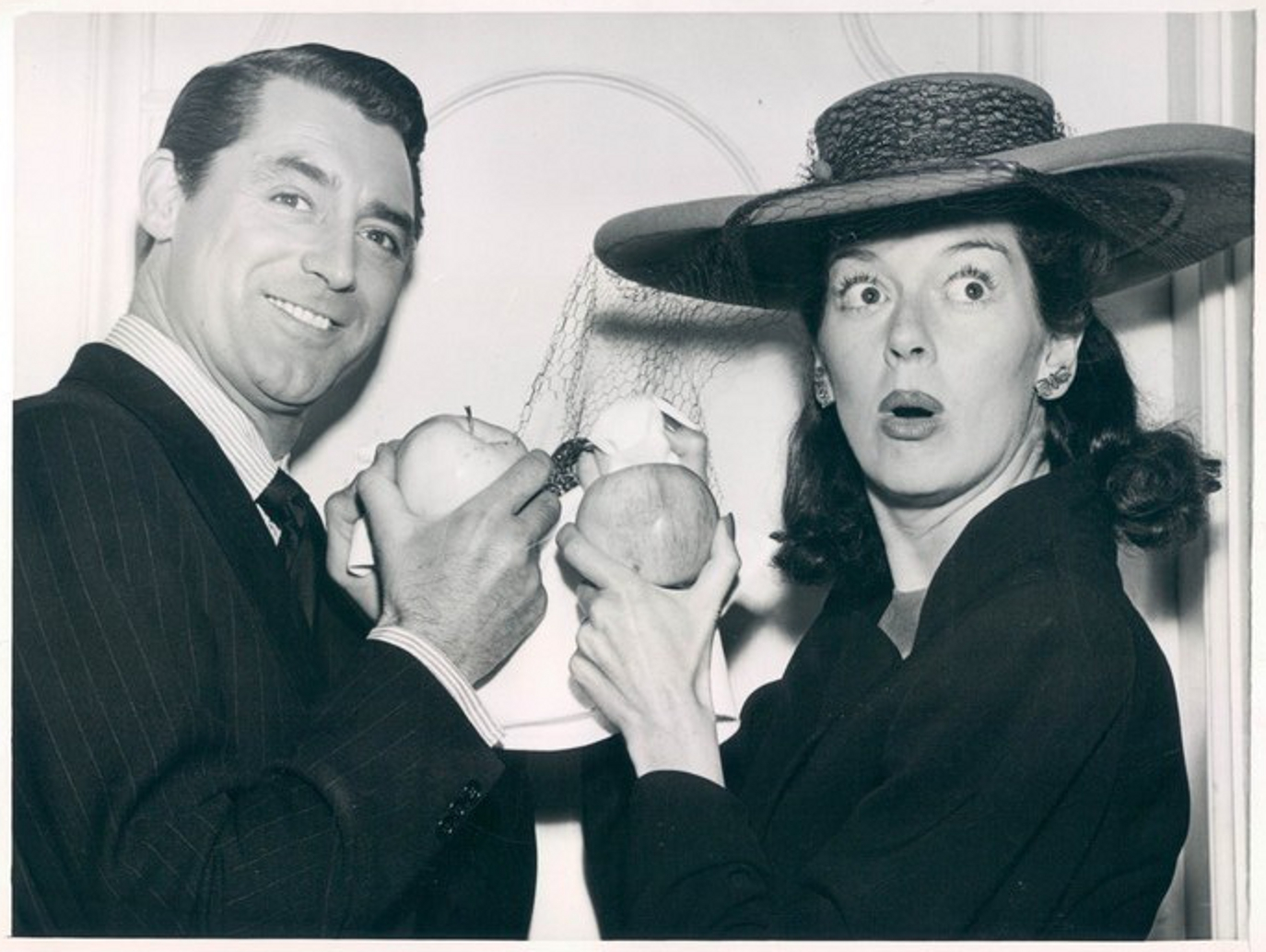 Classic Hollywood #19 - Cary Grant & Rosalind Russell