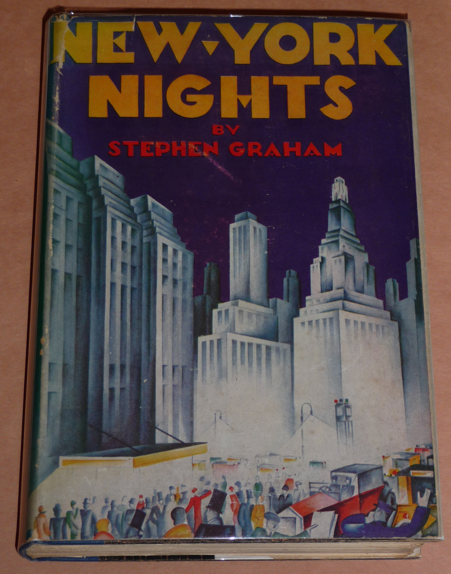 Part 3 Even More Vintage New York City Books With Great Art Deco Dust Jackets