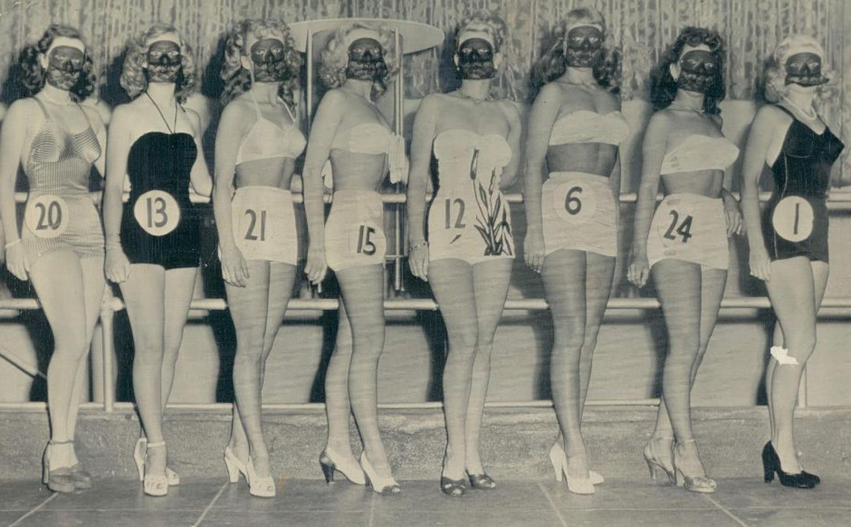 Best Legs Beauty Contest 1948