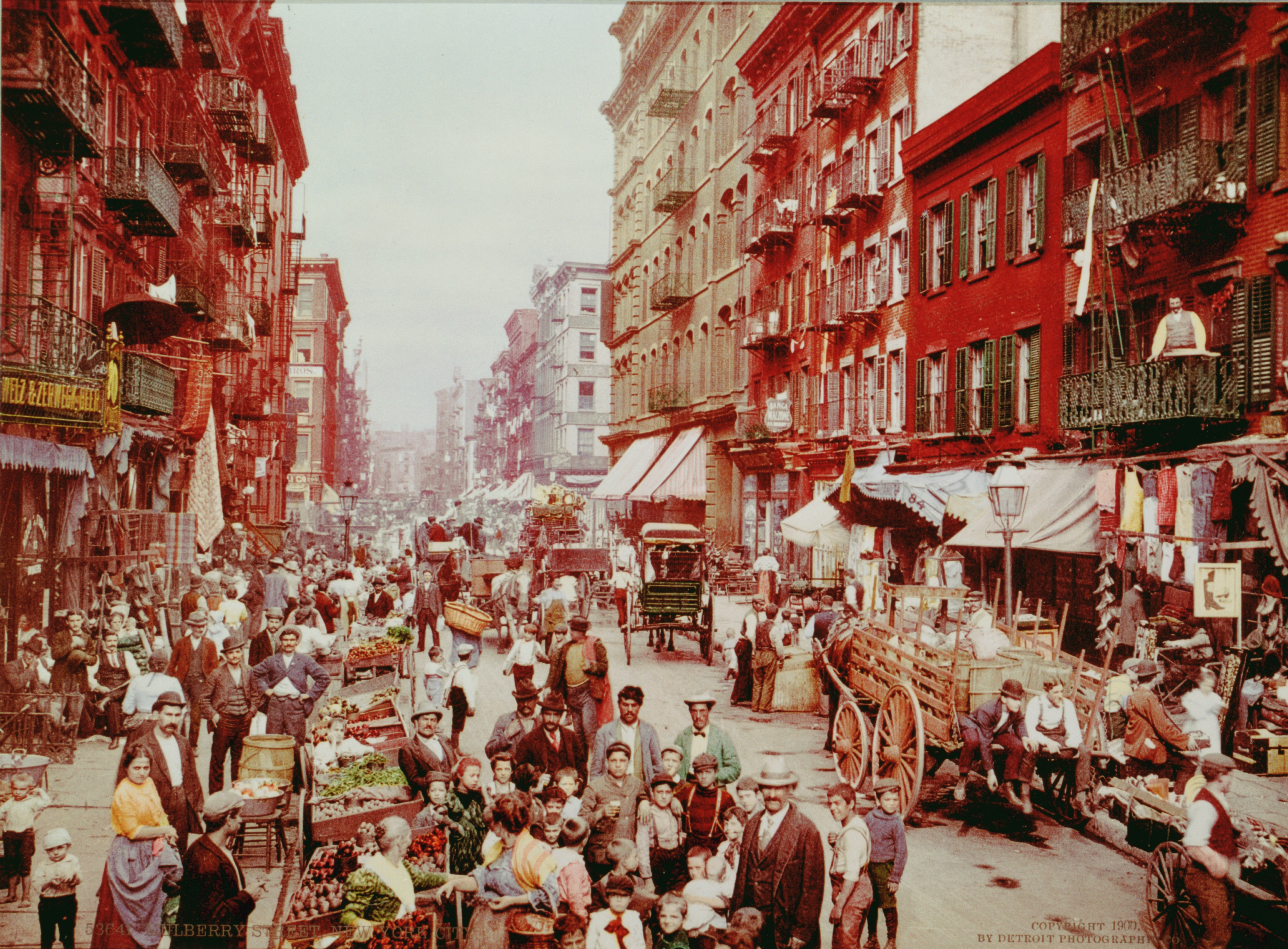 Old New York In Photos #28 - New York City Early Color Photos