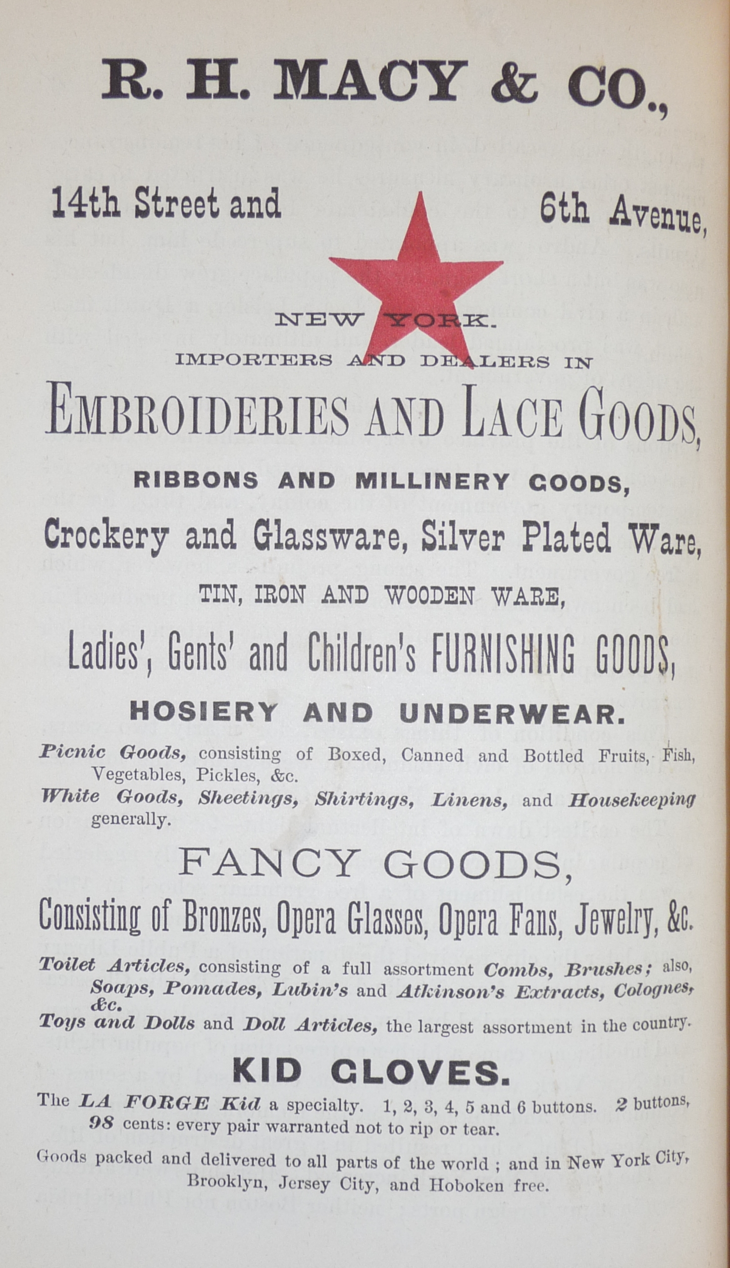 7 Old Ads Of New York Businesses From 1874