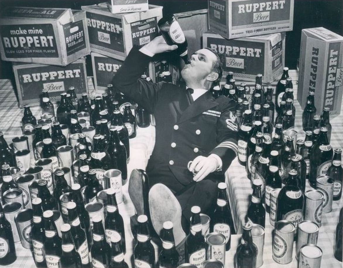 Free Beer For Life - 1950