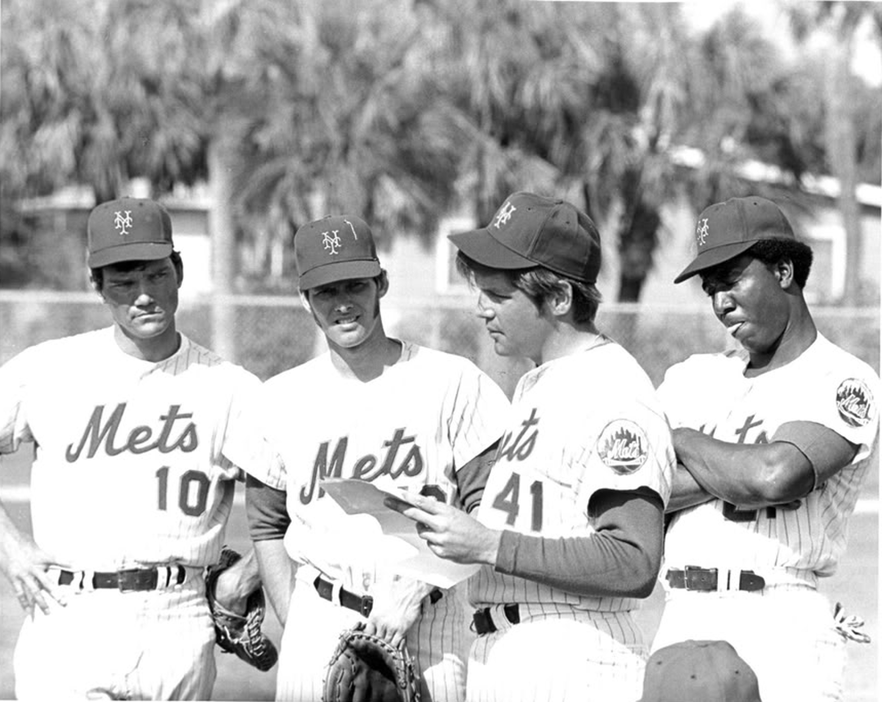 Mets In Spring Training - 1970