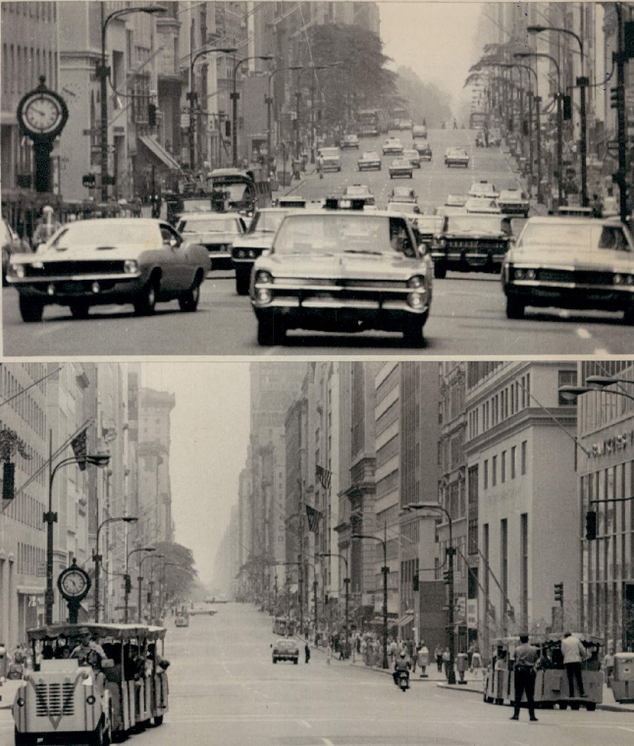 Banning Cars On City Streets In Manhattan - Not A New Idea