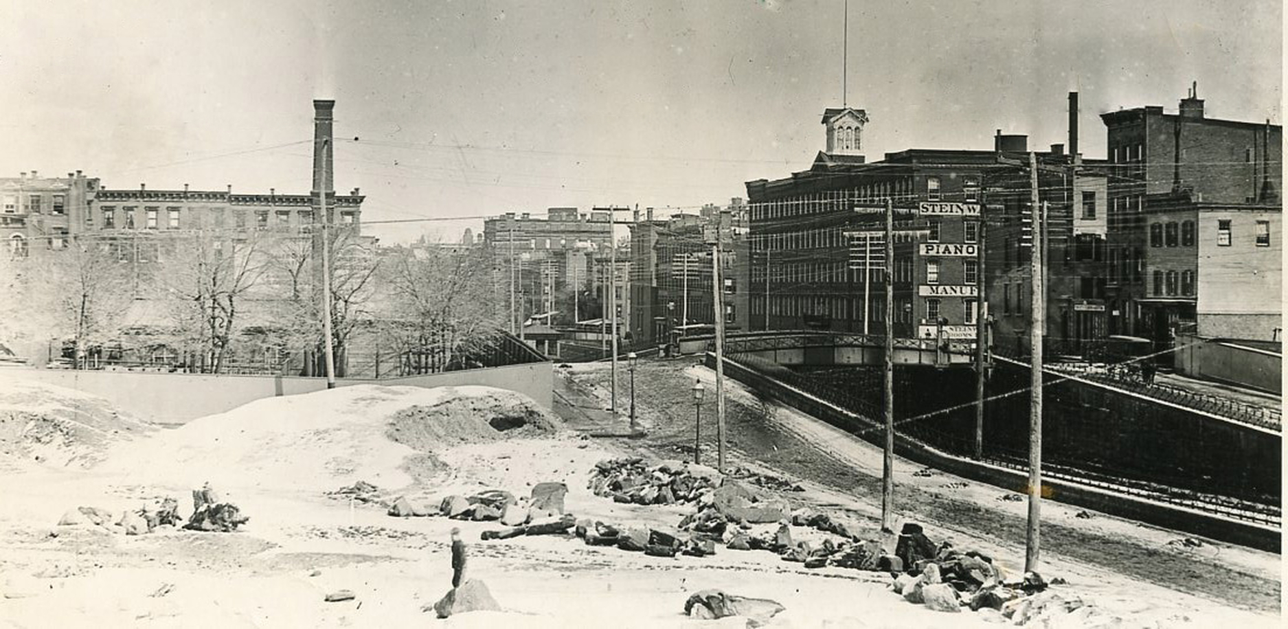 Old New York In Photos #41 - Park Avenue & 51st Street 1889