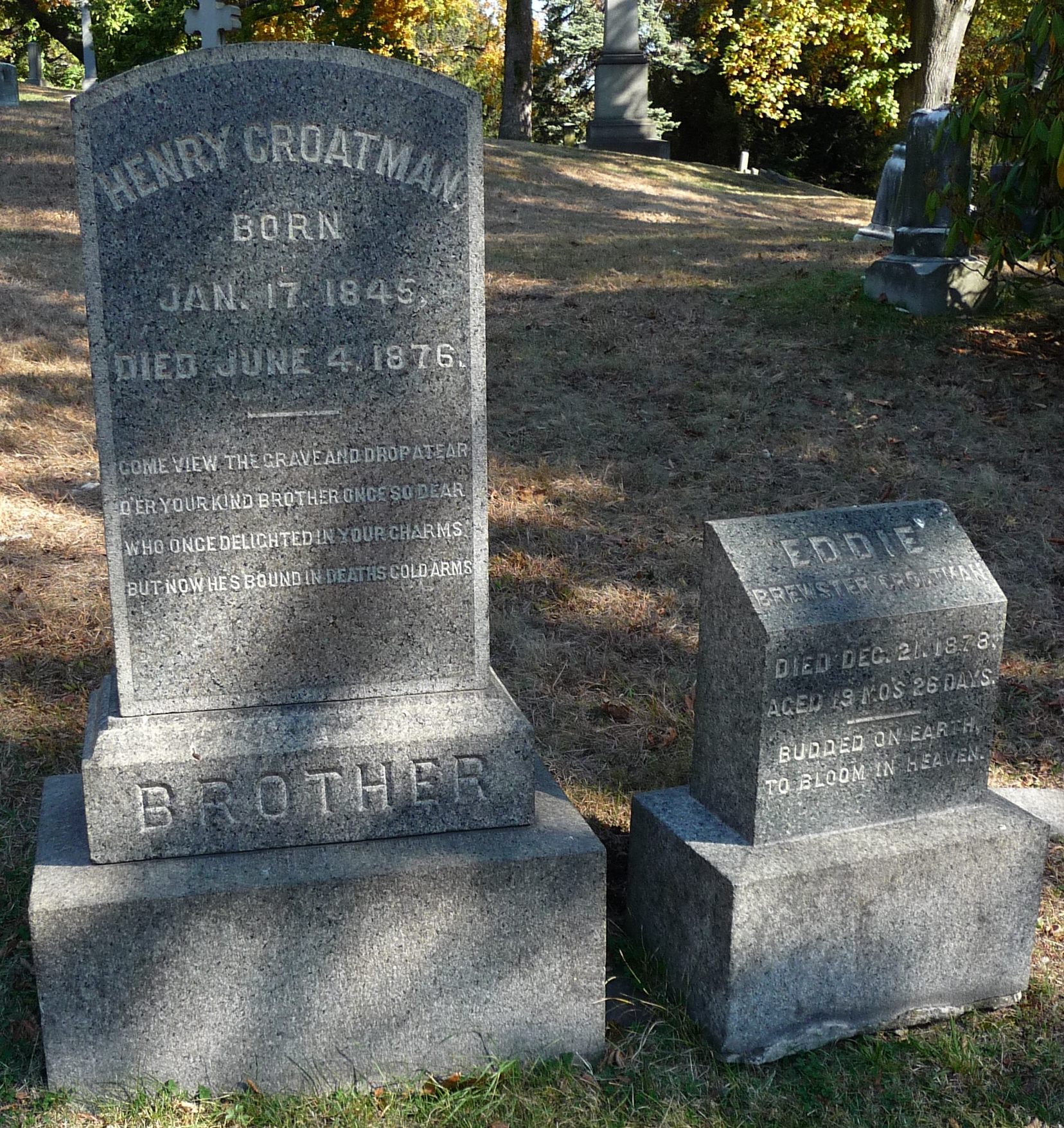 Brooklyn's Green-Wood Cemetery Epitaphs