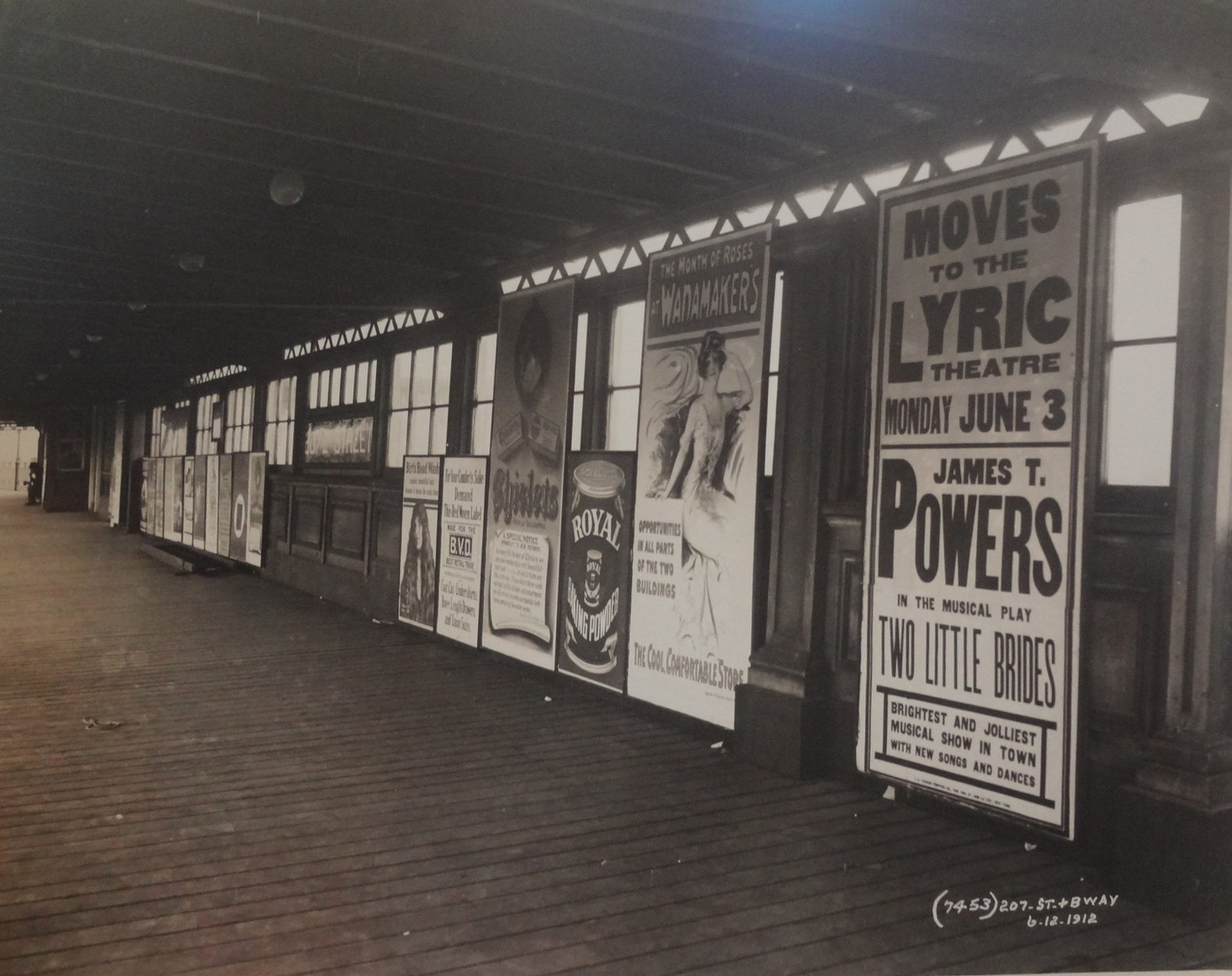 New York City Subway Advertising 1912