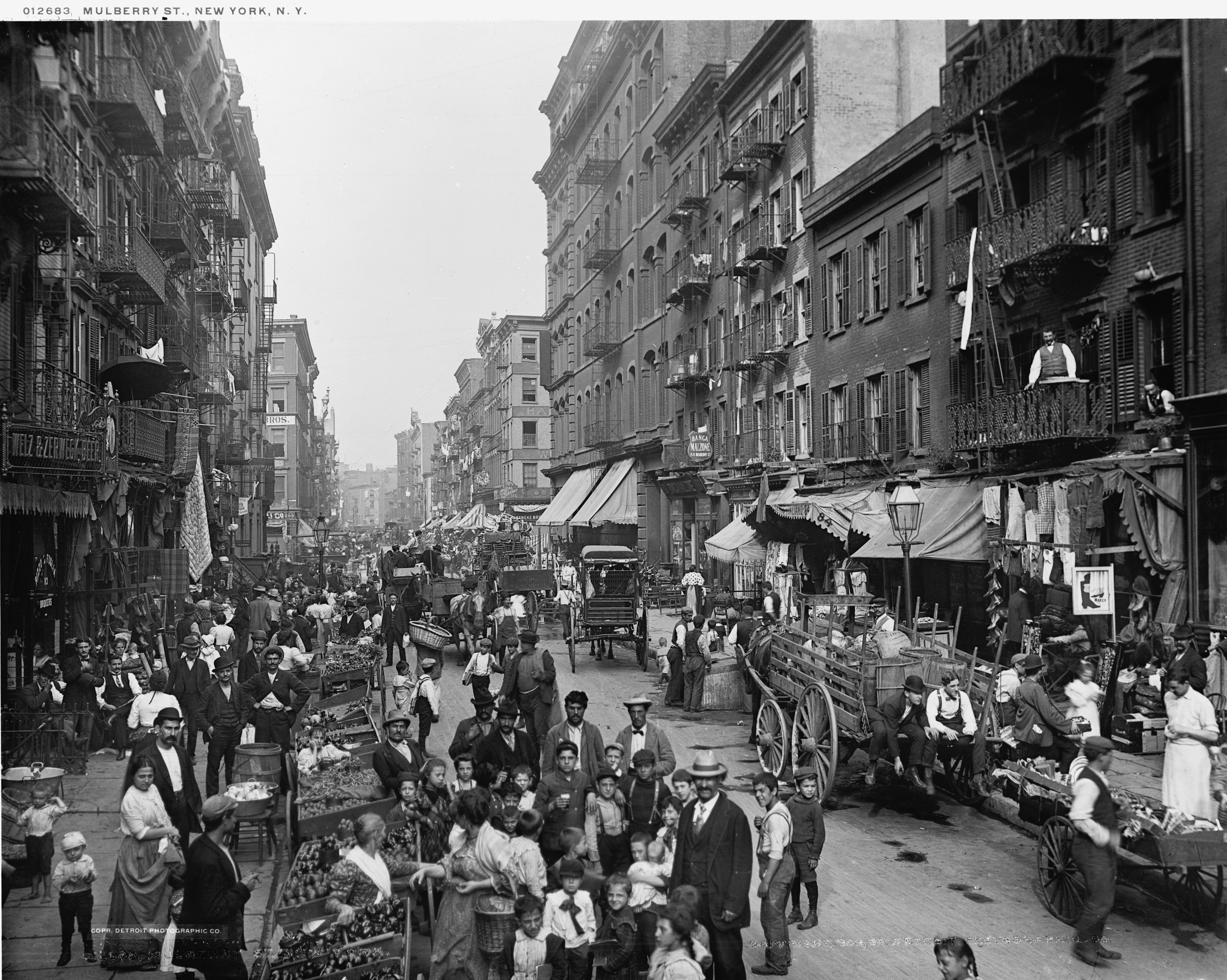 New York's Little Italy Described In 1898